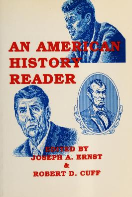 Cover of: An American History Reader |