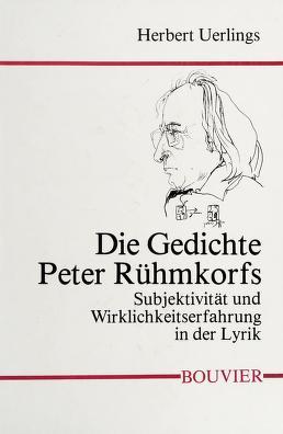Cover of: Die Gedichte Peter Rühmkorfs   Herbert Uerlings