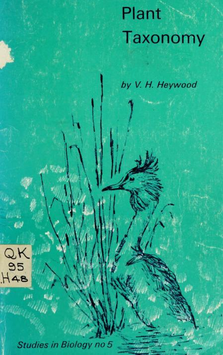 Plant taxonomy by V. H. Heywood