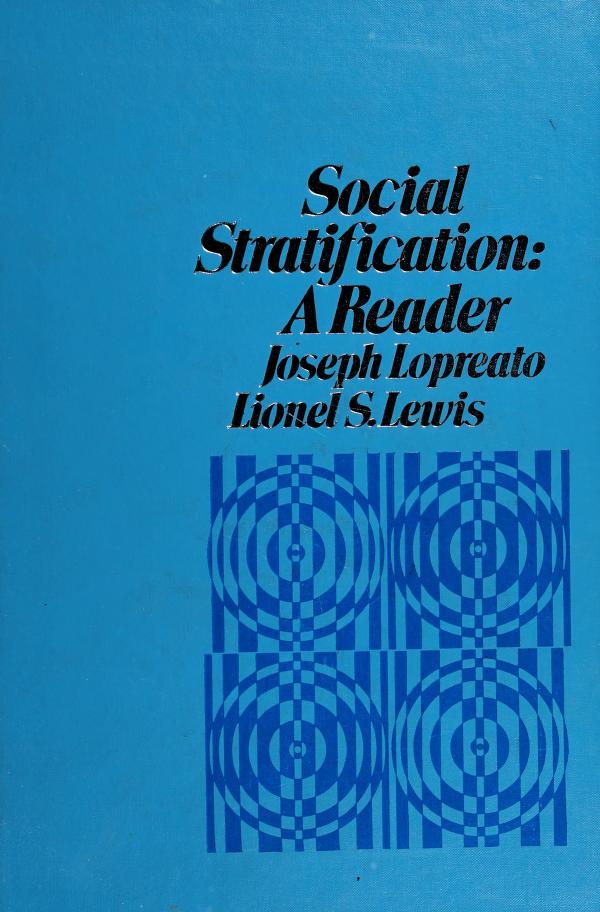 Social stratification by Joseph Lopreato